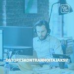 Image for the Tweet beginning: Haemme Lahteen OSTORESKONTRANHOITAJAA tiimiin, joka