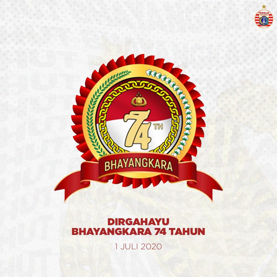 Dirgahayu Bhayangkara yang ke-74 tahun. 🇲🇨  #BelieveIn12 #PersijaJakarta https://t.co/TZWyscpLxY