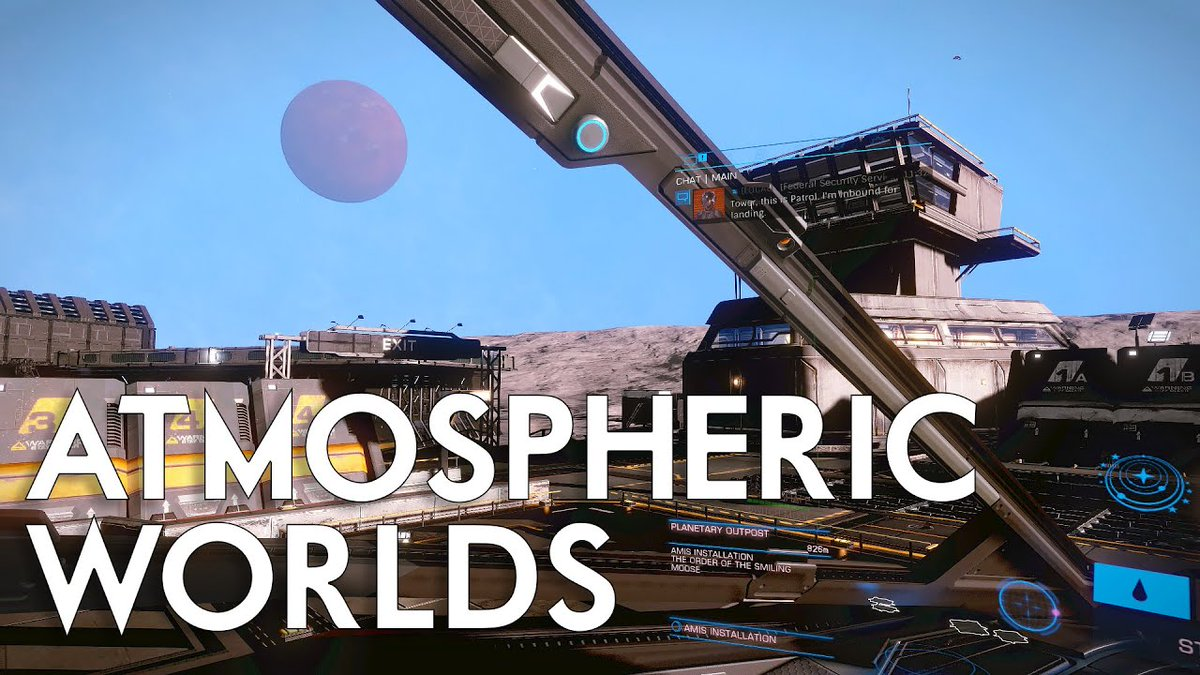 #Elite Dangerous - 'Atmospheric Planets' - In-Game ... - https://t.co/JGYzbxX7wf #UIX #Content #DavidBraben #Elite2 #EliteDangerous #EliteDangerousHorizons #Exploration #Exploring #Frontier #FrontierDevelopments #Galaxy #Gameplay #Horizons #Preview #SpaceGame #SpaceSim #Updates https://t.co/Oh70DSG6gD