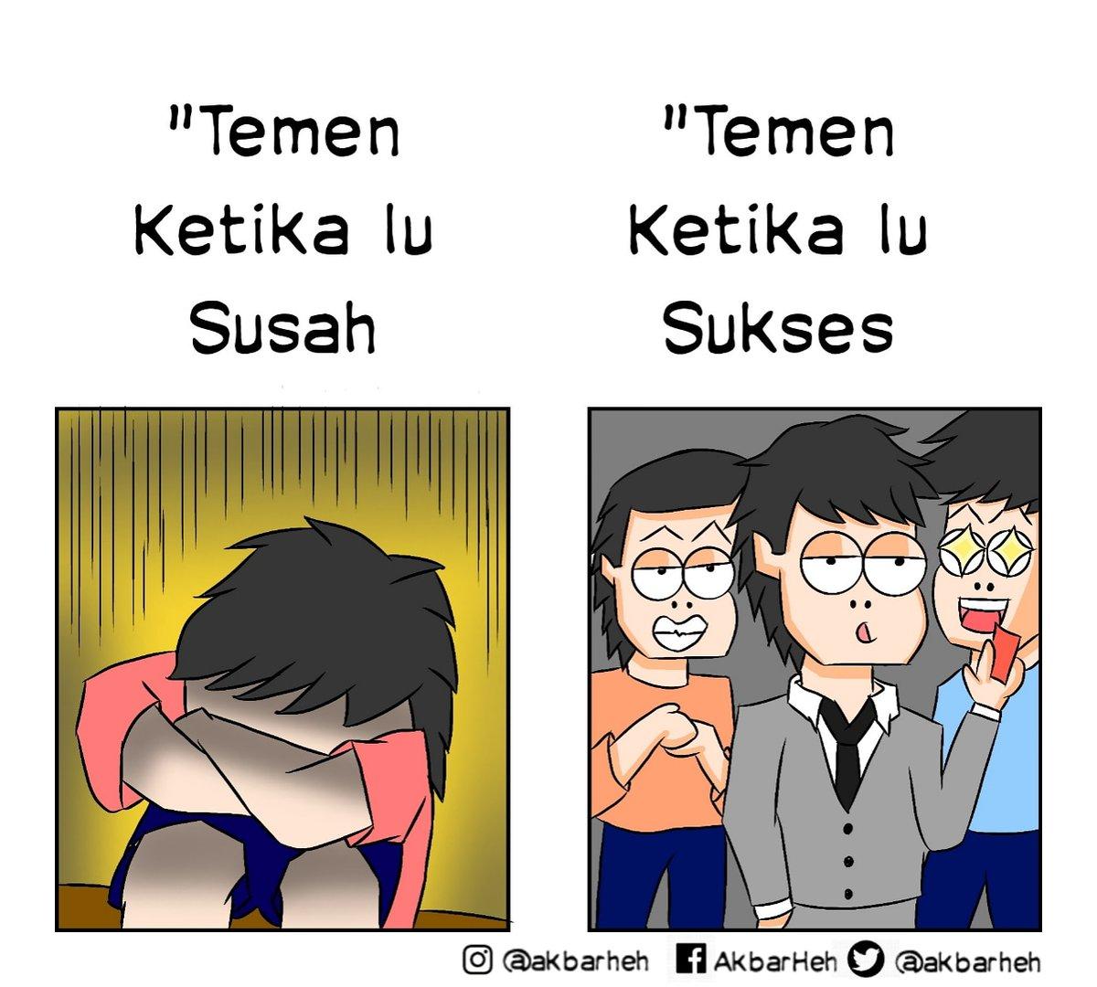 Di ajak susah mana mau .  Jangan lupa follow @akbarheh . . . #komikinaja #komikindo #komikindonesia #idntoon #komiklucu #komikharian #komikngakak #ngakakkocak #komikviral  #viral #indonesia #komikharian_ #komiksederhana #komikhot #siang  #komikzero #komikpolisi #burunghanpic.twitter.com/W5s9lqYklI