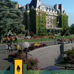 Image for the Tweet beginning: Canada's City of Gardens uses
