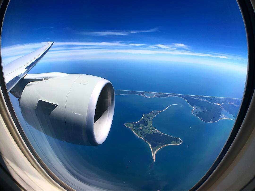 Nothing beats the tempting look from the skies! ☁️ ✈️ #QatarAirways #WindowWednesday 📸: geocasual (Instagram)