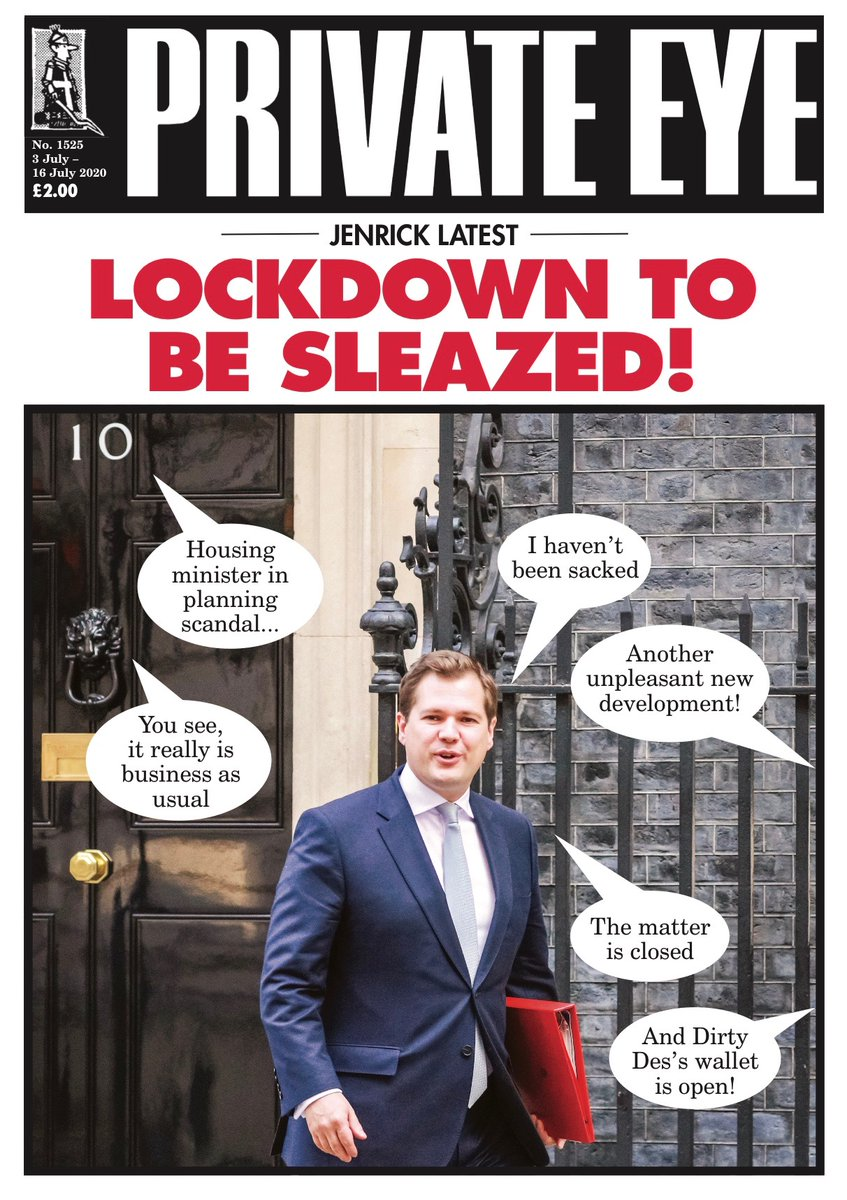 Summertime, and the living is sleazy: The new edition of Private Eye is out now!