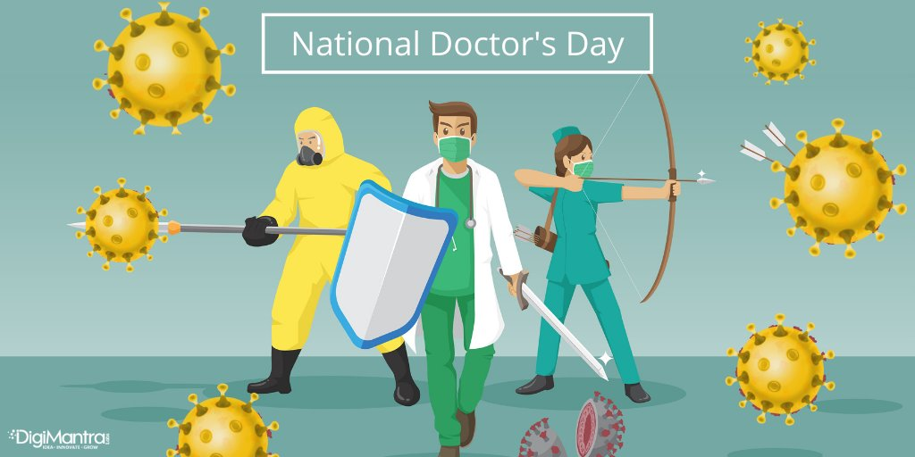 DigiMantra Labs salute the entire medical industry who has been working tirelessly to help us win the global battle against the pandemic. . #DoctorsDay2020 #NationalDoctorsDay #HappyDoctorsDay #COVID19 #digimantralabs #digitian<br>http://pic.twitter.com/2Jrqzw7qVu