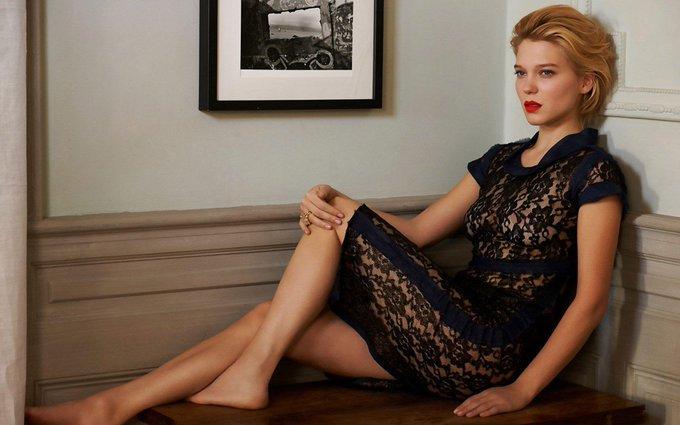 Happy birthday to the classy French beauty, Lea Seydoux!