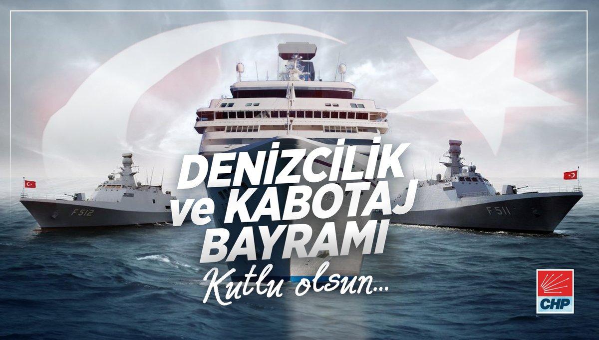 1 Temmuz Kabotaj ve Denizcilik Bayramımız kutlu olsun. Denizlerimizdeki egemenlik ve bağımsızlığımızı borçlu olduğumuz Gazi Mustafa Kemal Atatürkü ve tüm deniz şehitlerimizi minnetle anıyoruz.