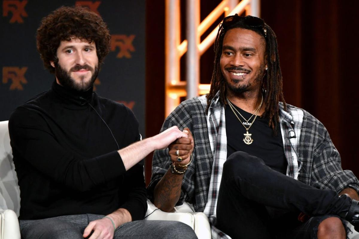 """The friendship between Gata and Lil Dicky gets me emotional.  Who else has seen the series """"Dave""""? <br>http://pic.twitter.com/3JZbBY2vrt"""