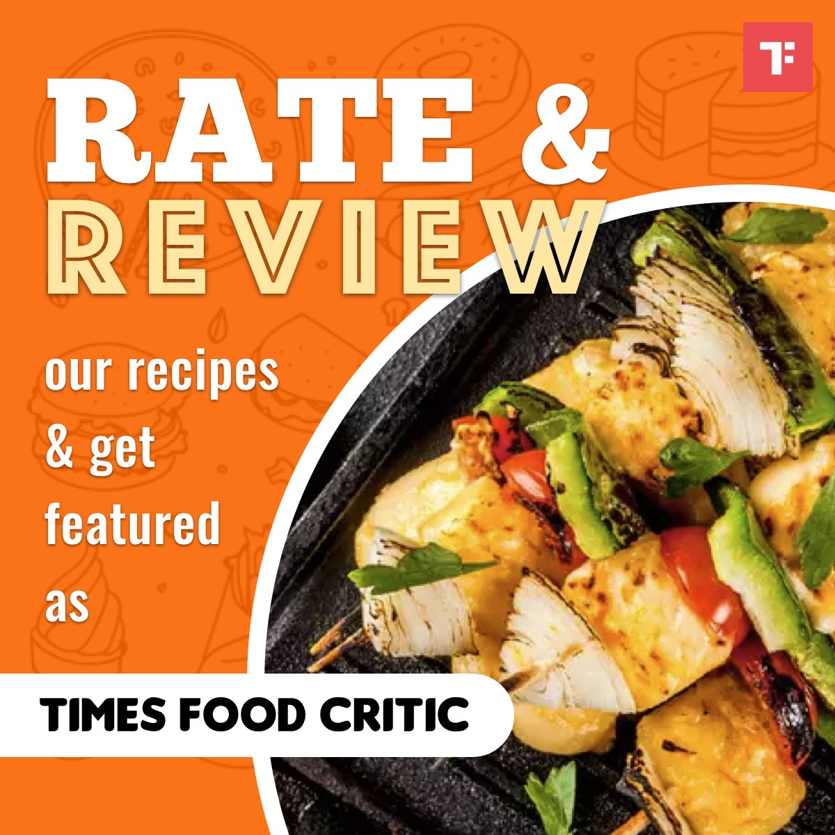 Are you fond of Paneer? If yes, then here's your chance to be entitled as  'Times Food Critic' of the week! RATE & REVIEW our recipes daily from our collection of 'Paneer' Recipes here: https://t.co/ZyTlkrGE3H  #TimesFoodCritic #RateAndReview https://t.co/84icAUZB7F