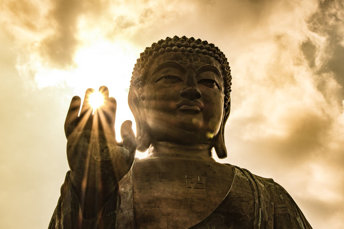"""""""The past is already gone, the future is not yet here. There's only one moment for you to live."""" - Buddha"""