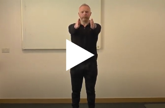 Reminder to staff that one of our security staff, Frank Peeney, has produced a fitness video for you to practice at home. This shows some simple moves to keep you active. A big thank you to Frank for the exercise tips. See the video at bit.ly/3dRaXxV @NHSEnglandNorth