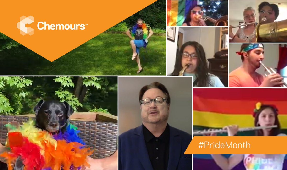 To commemorate #PrideMonth, our employees across the US participated in a virtual pride parade! Participants shared messages of support for the LGBTQ community, and how they celebrated pride with a brief musical performance from the Virtual Pride Band. https://t.co/XeenXzkrDg