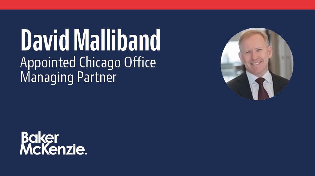 David Malliband has been appointed Managing Partner of our Chicago office. An experienced cross-border M&A lawyer, David will oversee our largest office in North America, bringing a focus on diversity and inclusion and innovation.https://t.co/Mdn7Yf7qrq https://t.co/xAieE4nHTr