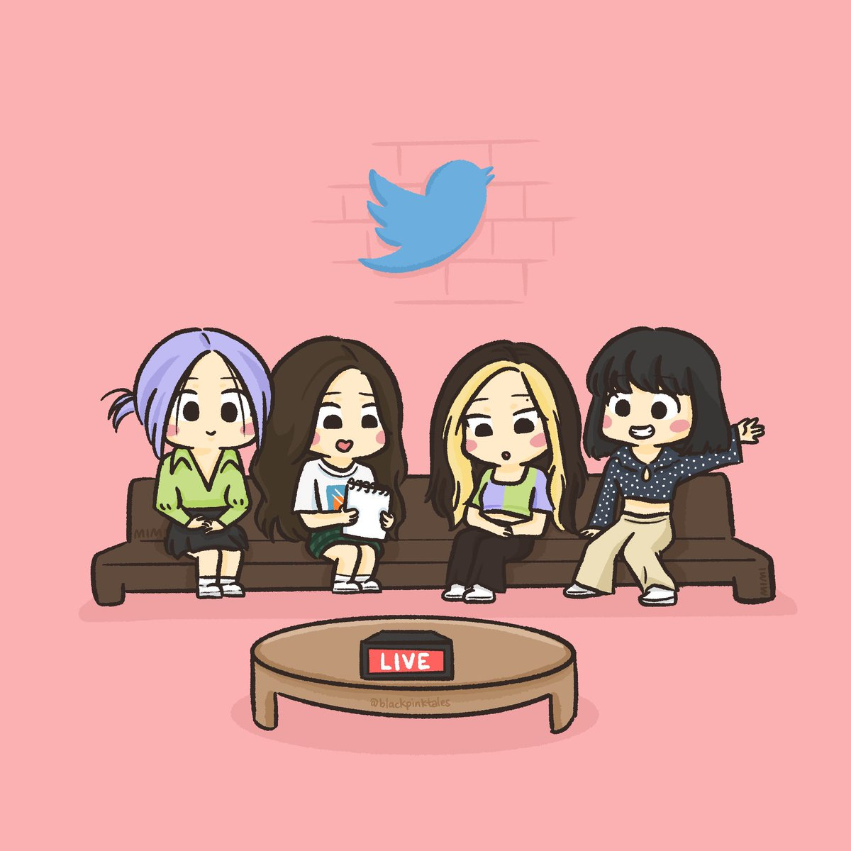 twitter blueroom with @blackpink   start and end <br>http://pic.twitter.com/WyYj7jxNNm