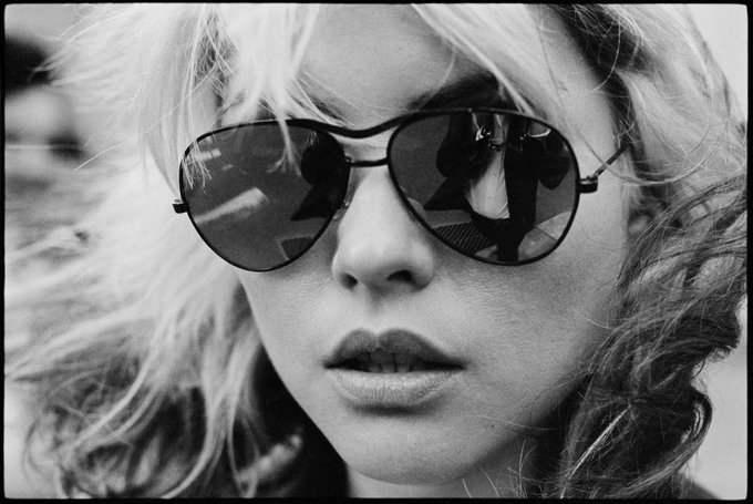 Happy Birthday Deborah Harry   (Image © Chris Stein)