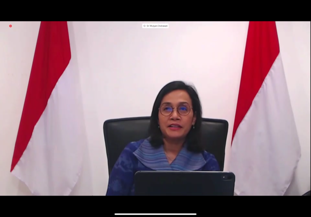 Rebirthing the Global Economy Women Economists Roundtable: Finance Min. Sri Mulyani Indrawati of Indonesia. From the #SDGs point of view, #COVID19 affects people, prosperity and partnership...we need equal opportunity to catch up from the shocks. #Fin4Dev Women #RiseForAll
