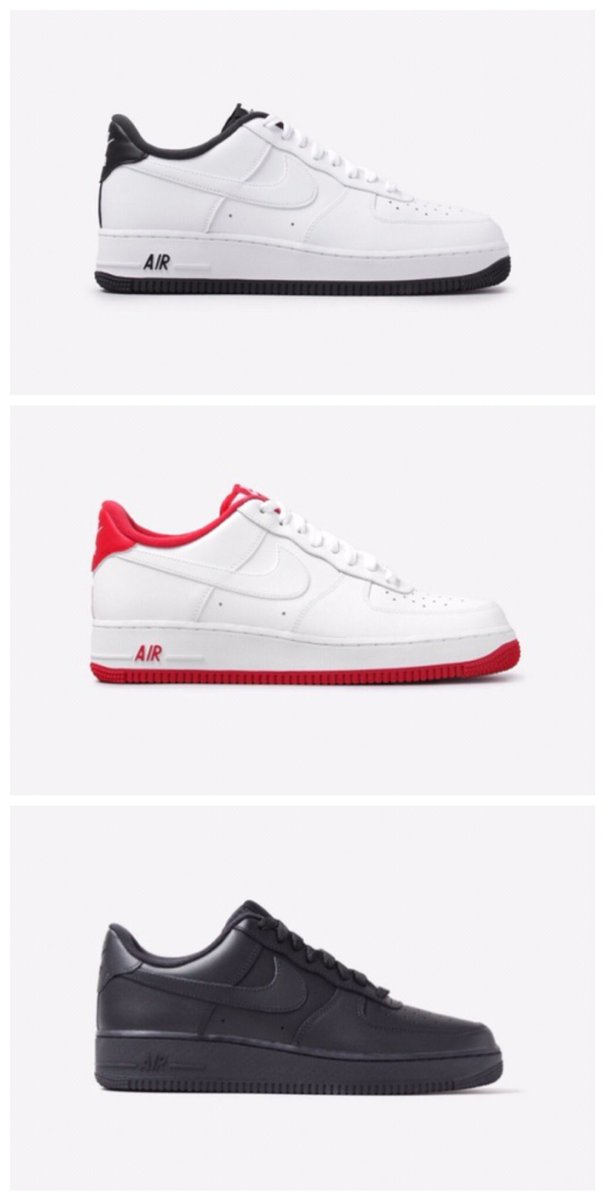 "Ad: SAVE 20% on the Nike Air Force 1!  Down to ONLY £64 with code ""HIP20"" at checkout  Black/White => https://t.co/SL2fTdOb9U Red/White => https://t.co/c8PGpqy2wr Triple Black => https://t.co/3sg4w0EYUg  UK6-11 https://t.co/B7Vbmdd8XC"