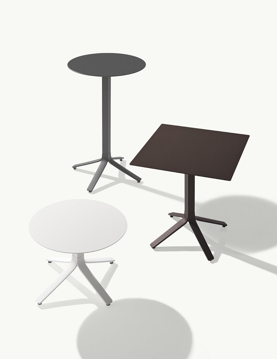 The Milos tables are modern pieces where engineering and aesthetics dialogue in favor of greater versatility, both in terms of use and function.  https://t.co/6xsrOwOdjV