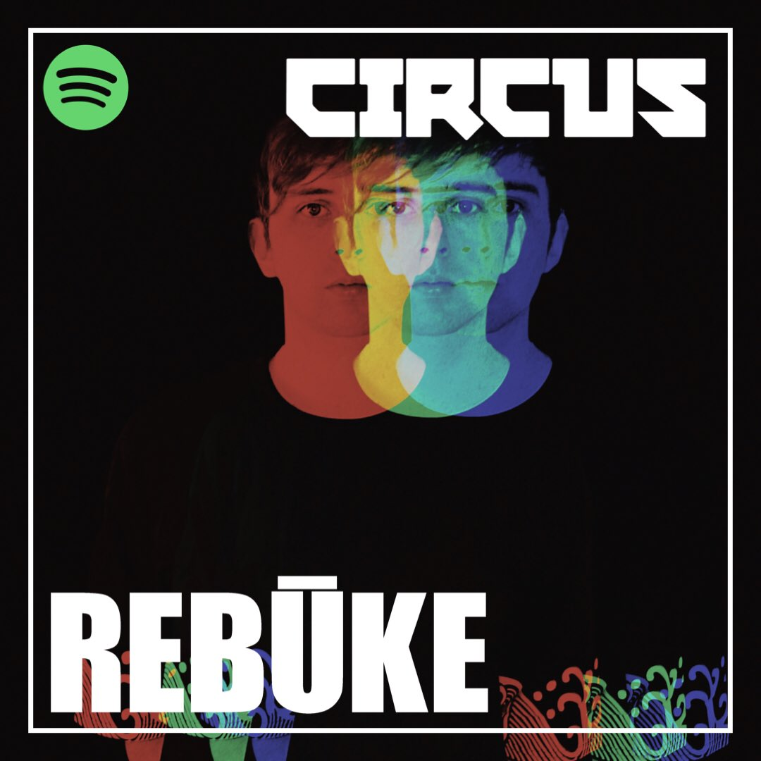 *NEW PLAYLIST* 🔊   We welcome @rebukemusic for the first in 'The Curators' series over on Spotify as we invite some CIRCUS favourites to curate a playlist tunes that they love 🙌 🖤   Check it out here - https://t.co/uXmnlTc8jm https://t.co/93vHTSUGUR