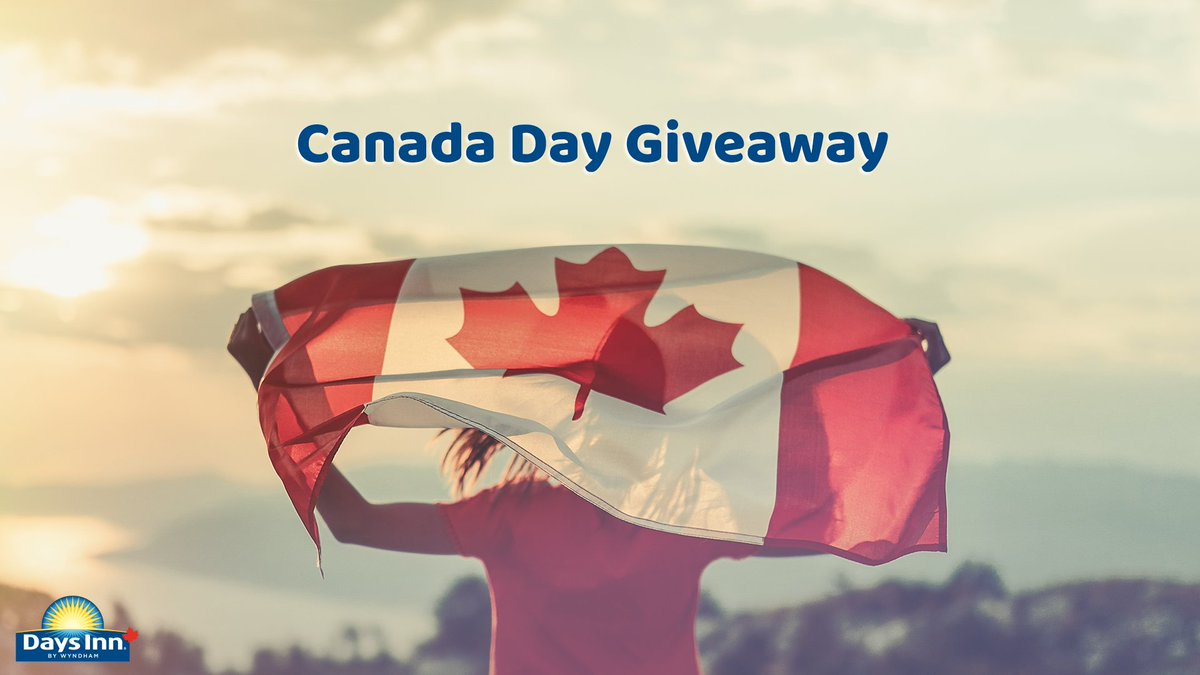 We're giving 3 winners a two-night stay at ANY Days Inn Canada location within their province and a $100 prepaid credit card🎉 #DaysInnCanadaGiveaway  To enter:  🍁 Like & RT  🍁 Follow @DaysInnCanada  21+, NoPurchNec. Excl. Quebec. Rules:https://t.co/obSZy4AlX6 https://t.co/kaAWfqZeXB