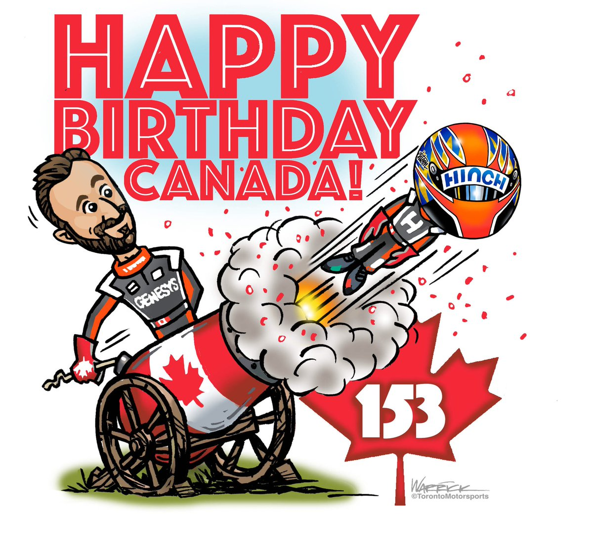 It's one of my favourite days of the year! #CanadaDay! Like Christmas in July! So put on your best flannel shirt, crack a beer, chug some syrup and sing O Canada (hybrid version) as loud as you can! Happy Canada Day to all the Canucks across the globe! https://t.co/TTRuqlHUEJ