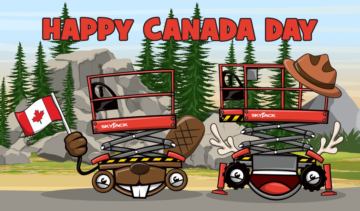 Happy Canada Day from all of us at Skyjack! 🇨🇦 #CanadaDay2020