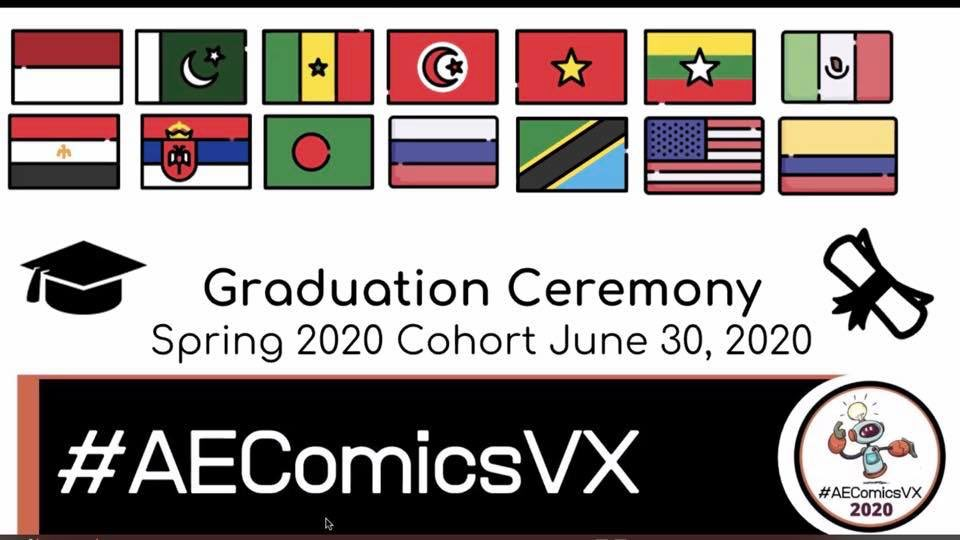 My friends from: 🇹🇷 🇸🇳 🇹🇿 🇹🇳 🇲🇲 🇪🇬 🇷🇺 🇵🇰 🇮🇩 🇲🇽 🇷🇸 🇧🇩 🇨🇴 🇻🇳 🇺🇸 #AEComicsVX