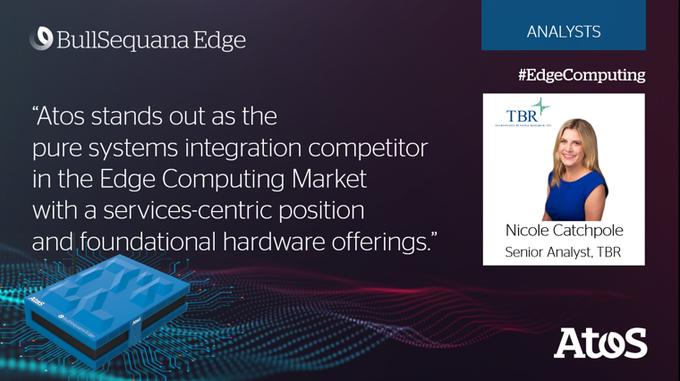 "[#ANALYSTS] TBR's analysts assess that ""Atos stands out as the pure systems integration comp..."