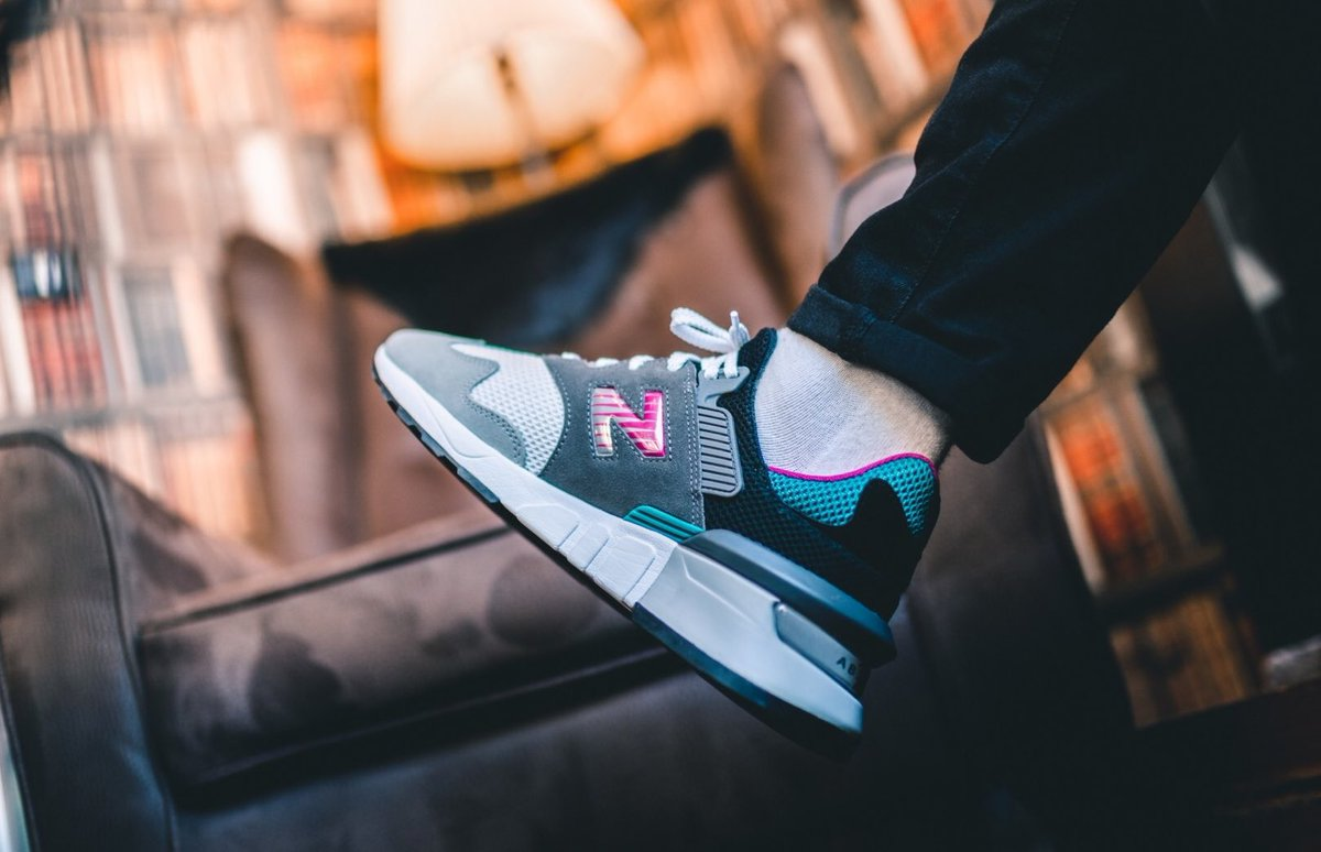 "Ad: Two styles of the New Balance 997 Sport have reduced from £90 to ONLY £36!  Code ""NBEXTRA20"" at checkout  Castlerock => https://t.co/0GnzAfcSKX Vivid Cobalt => https://t.co/W9sVK2thyE  UK3.5-11.5 (RRP£90) https://t.co/IbnLVtUTlM"