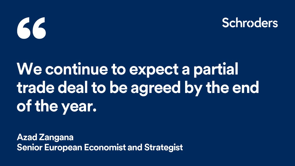 Although Brexit has taken a backseat from the headlines this year, we expect a partial trade deal to be done by the end of the year. Read more here: https://t.co/Wll2l34Mtq  #economicviews #perspective https://t.co/5qNXBv1DGV