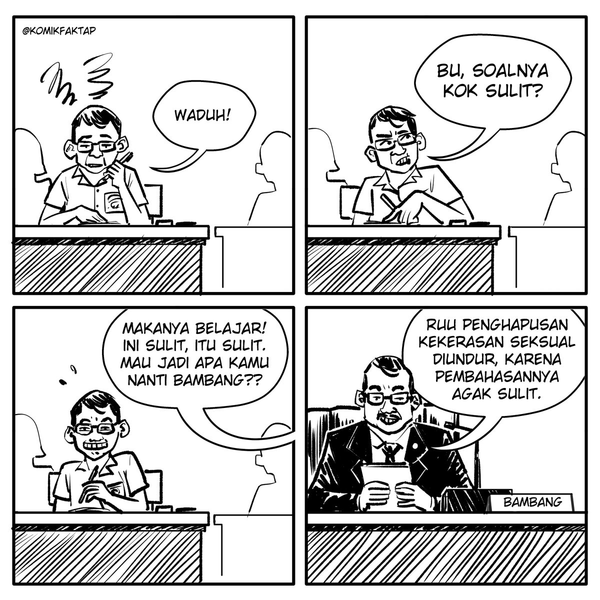 Sulit.  #KomikFaktap https://t.co/5QBcY4PjFe