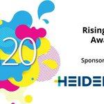 Image for the Tweet beginning: This year's Rising Star Award