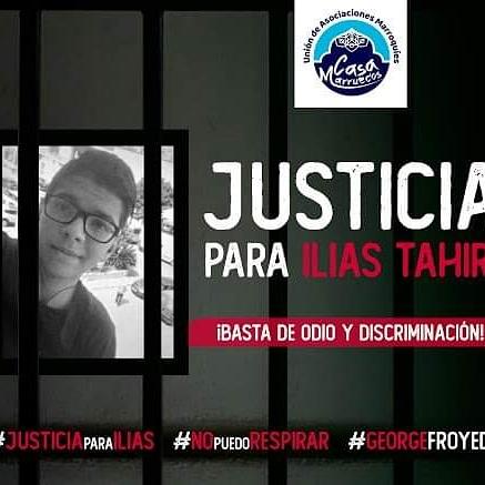 Hoy 1 de julio se cumple 1 año de fallecimiento de Ilias Tahiri en el Centro de Menores de Almeria.EL vídeo mostró las condiciones en las que el joven perdió la vida inmovilizado por 6 vigilantes. Exigimos reabrir el caso y que se haga justicia #JusticiaParaIlias #nopuedorespirar https://t.co/4tJi0zKjkr