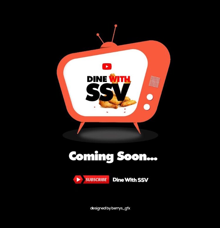 DINE WITH SSV 🌮🌭🥫🌮🌭🍗🥙🍔🥫🥓 Discover delicious SouthSouth Cuisines With SSV 🥰🥰🥰🥰 For Sponsorship and partnership Send a DM #DineWithSSV Coming soon !!!