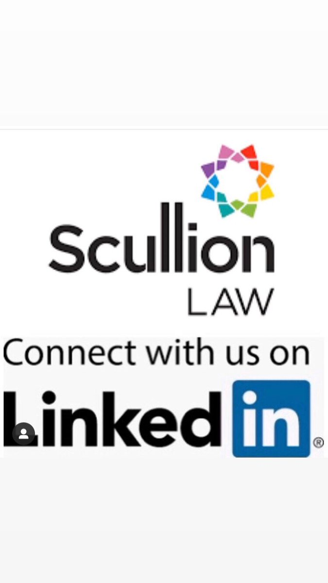 Please connect with us on LinkedIn #ScullionLAW