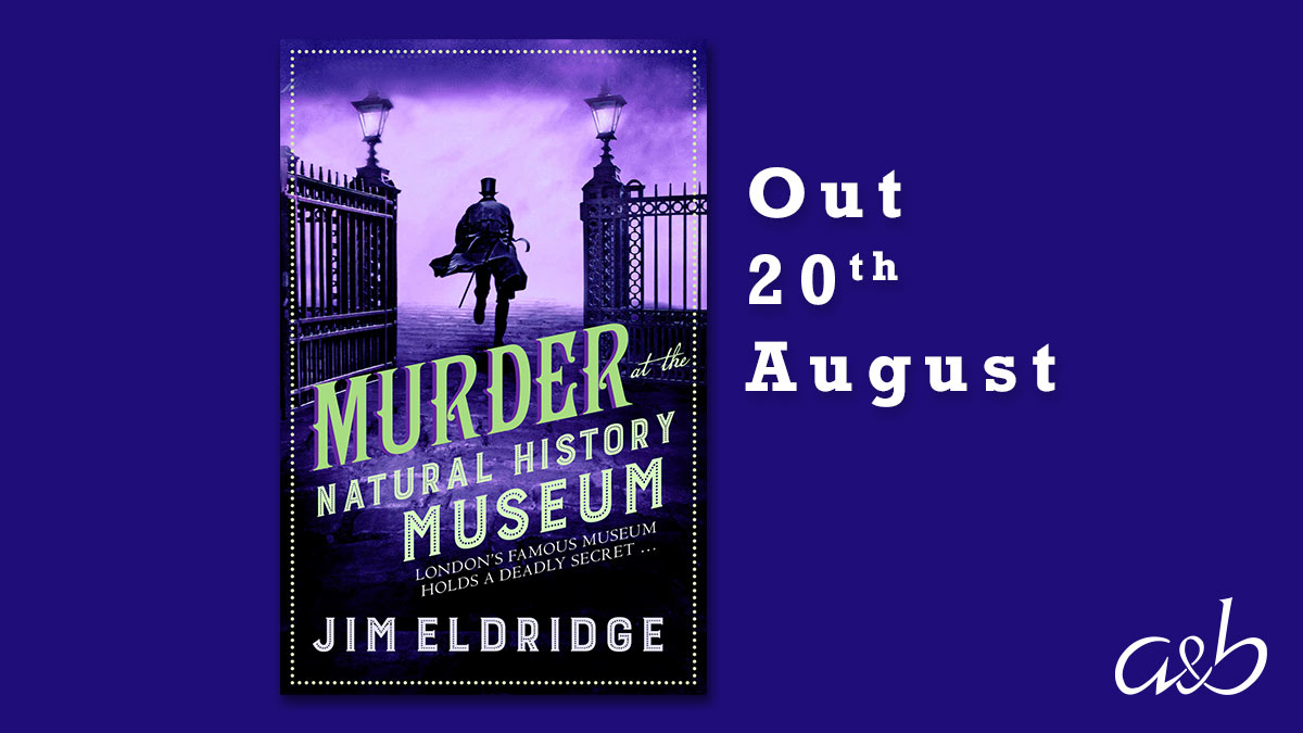 Jim Eldridge, whose latest Museum Mystery novel MURDER AT THE NATURAL HISTORY MUSEUM is out next month, talks to @HelpImHannah about his writing life and what's coming next  https://t.co/mKYefWEKBc  #historicalfiction #CrimeFiction https://t.co/oamm2ofktF