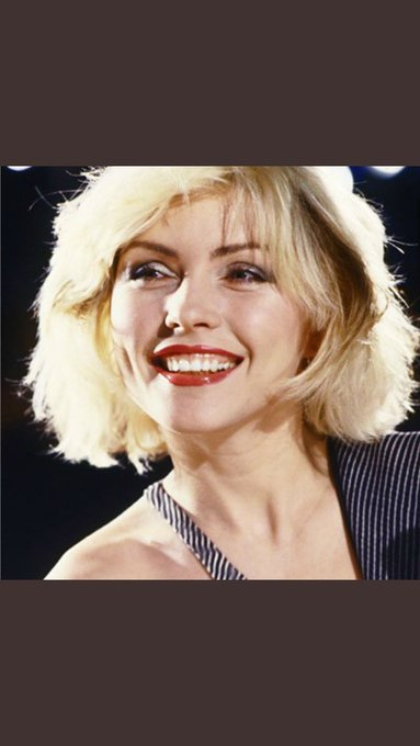 Happy 75th Birthday to the incomparably beautiful Debbie Harry.