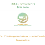 Image for the Tweet beginning: #whatmatters #whatworks The #FOCUSforRefugees newsletter June