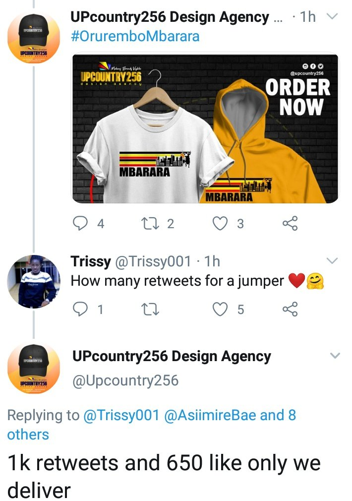 #UOT please do your thing,, let me get myself a jumper from @Upcountry256  rt and like please  1k rts and 650 likes<br>http://pic.twitter.com/qFmkGTL9mo