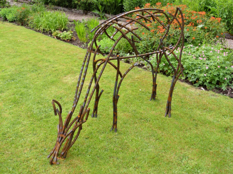 Cumbrian sculptor Andrew Kay's lockdown business boost as people spend more on their gardens - and calming sculptures. @AKSculpture #gardening #art #sculpture #northwest #lockdownlife