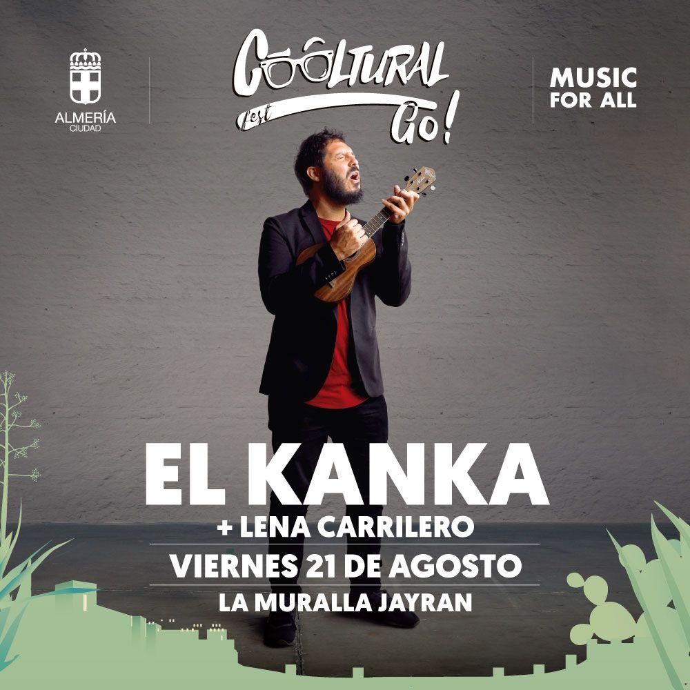 ¡Qué bello es vivir en esta nueva normalidad en un concierto de @El_Kanka ! 🌸☀️ Y si viene acompañado de @Lenacarrilero y la cerveza, 🍺 ¡Canela rama! 😎   #CoolturalGo #Almeria #Musicforall #ElKanka https://t.co/cgj1v4UZOb