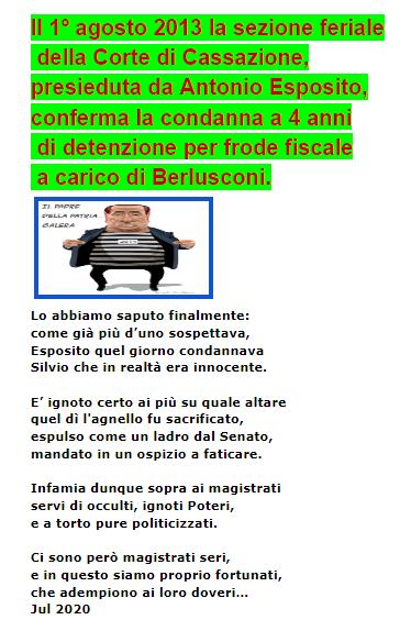 Berlusconi innocente!