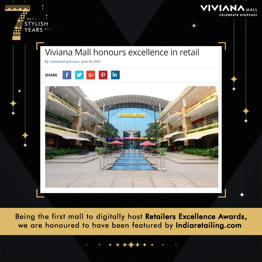 Even the lockdown couldn't hold us back from appreciating the ones who have excelled in their respective retail fields. We held a virtual celebration for the same on all our social media channels and were delighted to have our effort being captured by https://t.co/b2Was16G95 https://t.co/jH0Jrx3WXl