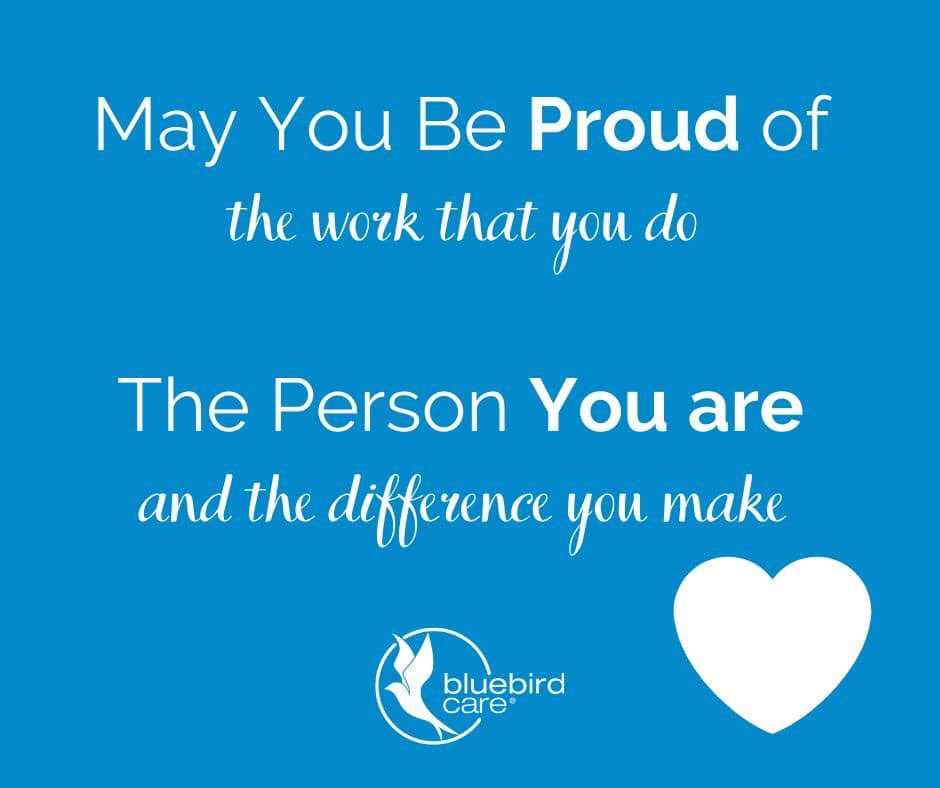 """""""May you be proud of the work you do, the person you are and the difference you make""""    #YouAreAmazing #HomeCare #Merton #Wimbledon #RaynesPark<br>http://pic.twitter.com/ZCe8w8Qx4x"""