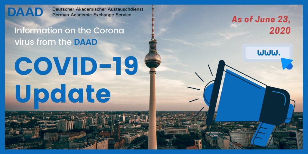 From insights on the emerging impacts of #COVID-19 on int. higher #education, to helpful info on how the #pandemic may affect your #academic endeavours in #Germany (including #scholarships)🧐  📢Click here for a succinct summary provided by the #DAAD  ℹ️https://t.co/f1uXTcj6Nq https://t.co/sPwXiH1BnZ
