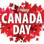 Image for the Tweet beginning: Happy Birthday Canada! Wishing you