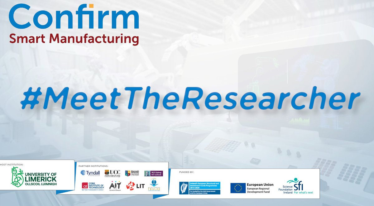 Every #Wednesday we have a chat with a CONFIRM researcher so that YOU can get an insight into what STEM research is all about... Read this weeks post: https://t.co/S4QVsyPLeI #MeetTheResearcher @scienceirel #LoveIrishResearch #BelieveInScience @SmartFuturesIE https://t.co/tB3xRD1295