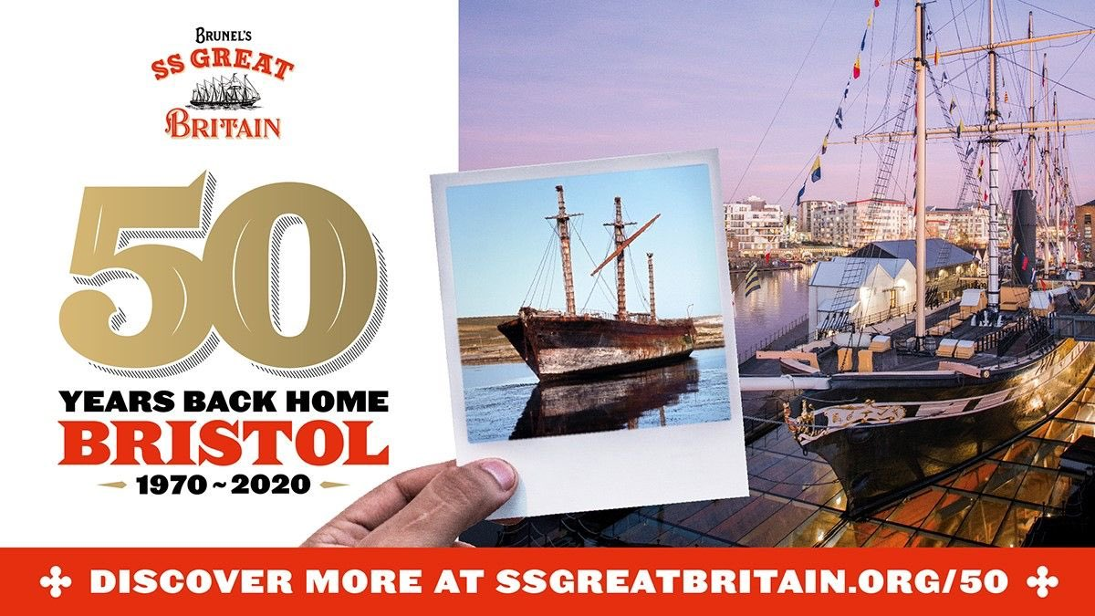 This month @SSGreatBritain celebrates 50 years back in Bristol, after an incredible salvage and journey across the world 🎉🥂🎂  The big party is sadly postponed, but we filmed a mini documentary pre-lockdown which I'm excited to finally be able to share!  https://t.co/zPxiUiRFiB https://t.co/LjkgXi2oLg