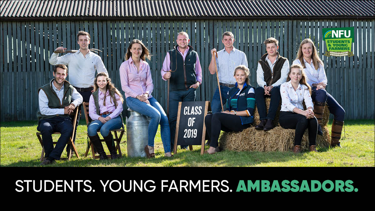 #FinalCall 📢 If you want the opportunity to experience the best the NFU has to offer and to shape the future of British farming, you have until midnight to submit your Student & Young Farmer Ambassador Programme application ➡️ ow.ly/dIfp50ztPEH