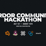 Image for the Tweet beginning: #Ardor community hackathon starts today!