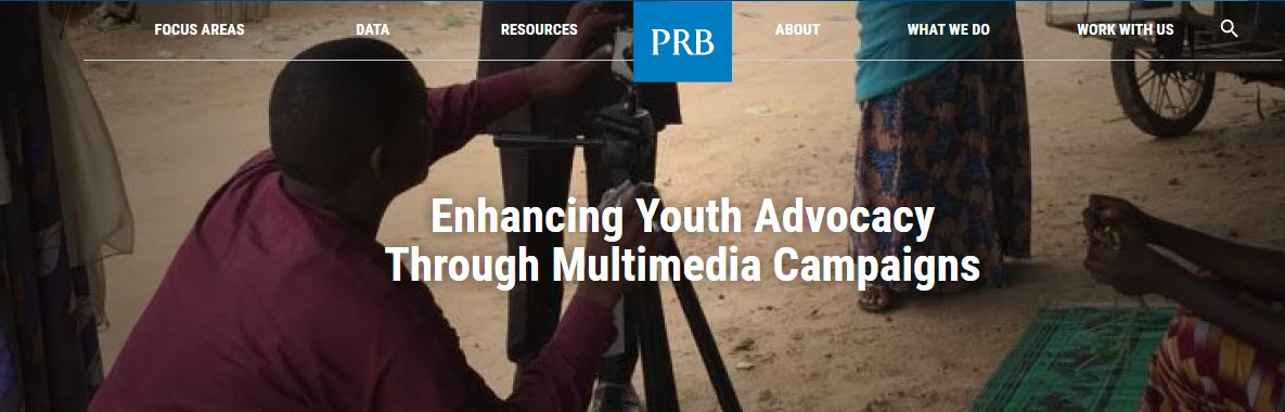 PACE Youth Multimedia Campaigns equips youth advocates with skills to create digital platforms to encourage health stories from locals that affect #popdynamics. They focus their advocacy messages on the health and well-being of their communities. https://t.co/OITCgWNQ4V #youth https://t.co/whBqL3dyMH